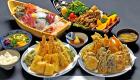 Dinner at Yakatabune