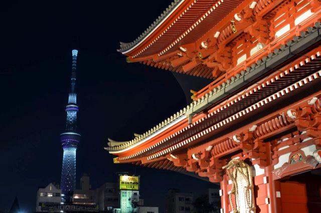 Skytree + Asakusa